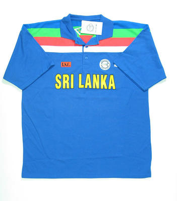 Sri Lankan team shirt, 1992 Cricket World Cup