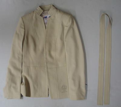 Jacket with belt, Australian team uniform, 2004 Athens Olympics
