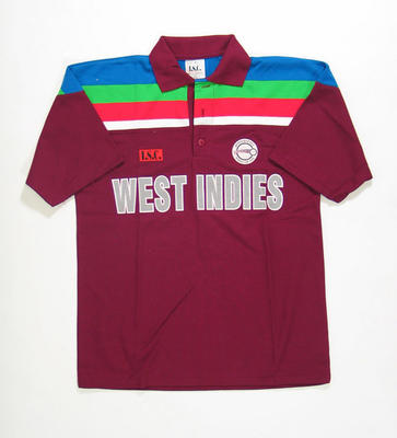 West Indies team shirt, 1992 Cricket World Cup