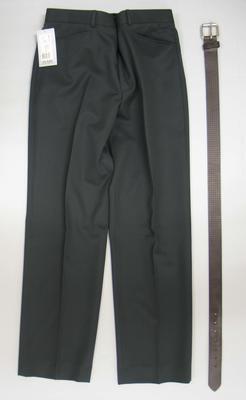 Pants with belt, Australian team uniform, 2002 Salt Lake City Winter Olympics