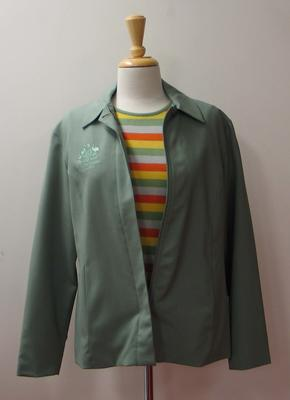 Jacket and knit top, Australian team uniform, 2001 East Asian Games, Osaka