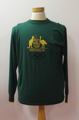 Long sleeved top, Australian Olympic team uniform