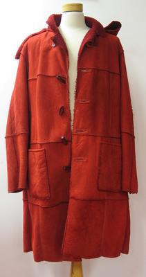 Coat, Australian Olympic team uniform, Opening ceremony, 2002 Salt Lake City Winter Olympics; Clothing or accessories; N2008.35.77