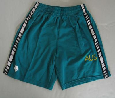 Shorts, Australian team uniform, 2001 East Asian Games, Osaka