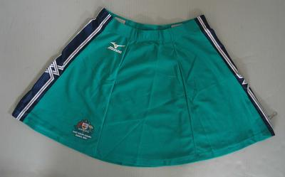 Skirt, Australian team uniform, 2001 East Asian Games, Osaka