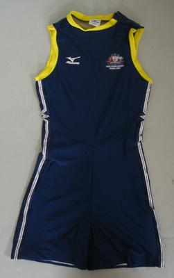 Bodysuit, Australian team uniform, 2001 East Asian Games, Osaka