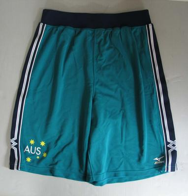 Basketball trunks, Australian team uniform, 2001 East Asian Games, Osaka