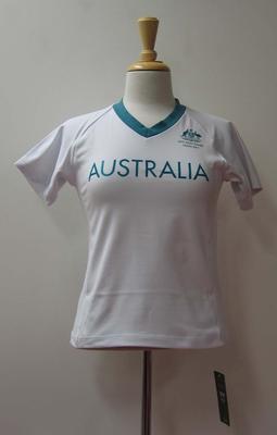 Volleyball top, Australian team uniform, 2001 East Asian Games, Osaka