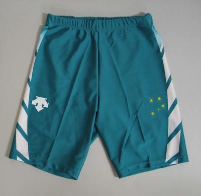 Bike shorts, Australian team uniform, 2001 East Asian Games, Osaka