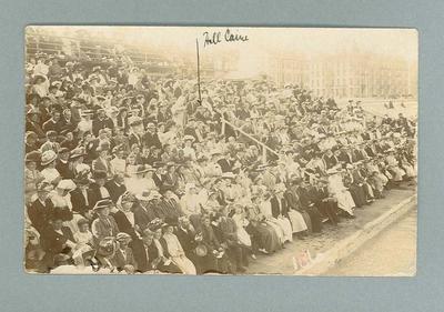 Postcard, image of swimming spectators