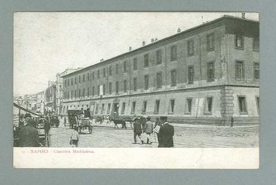 Postcard, image of Napoli