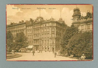 Postcard from Finland, 29 Aug 1910