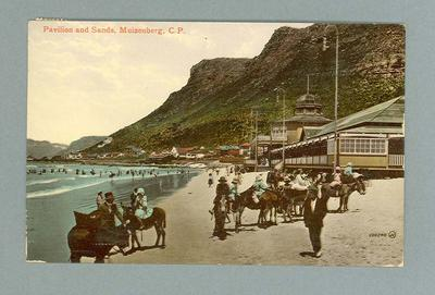 Postcard from Muizenberg