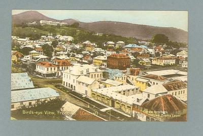 Postcard from Sierra Leone