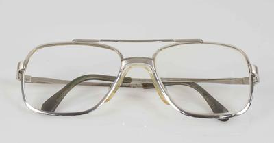 Pair of glasses worn by Bob Hawke, broken during the Prime Minister's Cricket Match 1989
