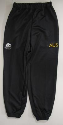 Tracksuit pants, Australian team uniform, 2001 East Asian Games, Osaka