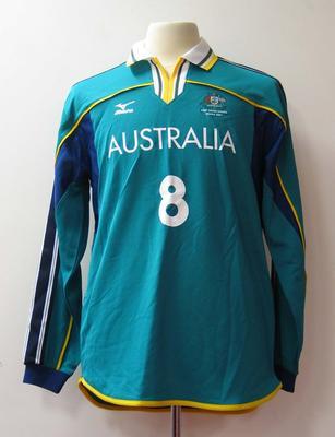 Long sleeved top, Australian team uniform, 2001 East Asian Games, Osaka