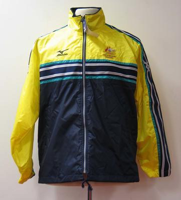 Rain jacket, Australian team uniform, 2001 East Asian Games, Osaka