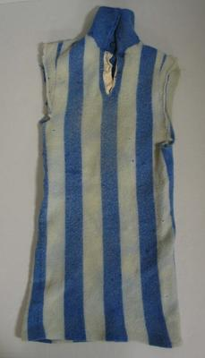 North Melbourne Football Club guernsey worn by Leslie 'Laurie' Shipp, 1949-1951