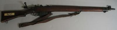 Rifle used by the Armstrong Family, MCC Rifle Club