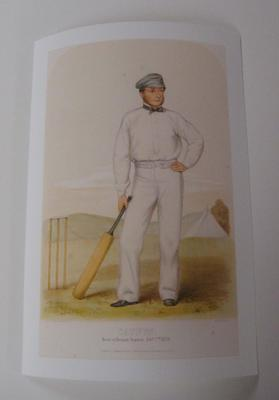 Reproduction lithograph of William Caffyn, c.1857