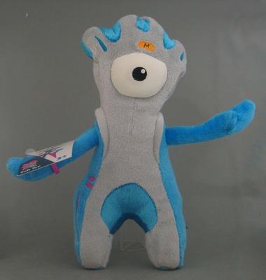 Plush toy, 2012 London Paralympic Games plush toy mascot, 'Mandeville'