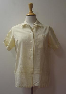 Cricket shirt worn by Patricia Thomson, c.1950s-1960s