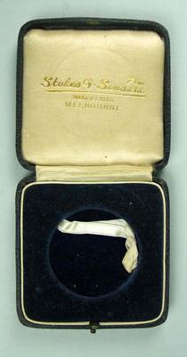 Medal presentation box, c1938