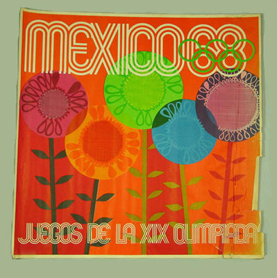 Poster, 1968 Mexico City Olympic Games