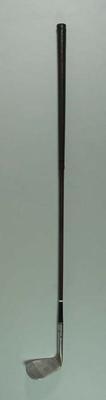 Golf club, Don Walker sand wedge c1930s; Sporting equipment; 2002.3869.19
