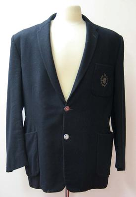 Melbourne Cricket Club Baseball Section blazer worn by Colin Miller, c. 1960.