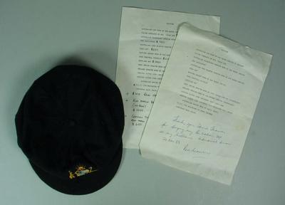 Baggy green cap worn by Rod Marsh, 1982/83