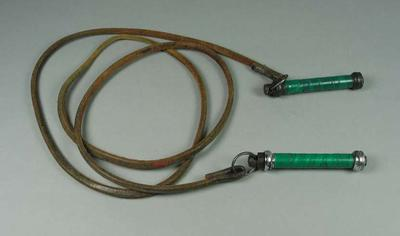 Skipping rope used by Johnny Famechon