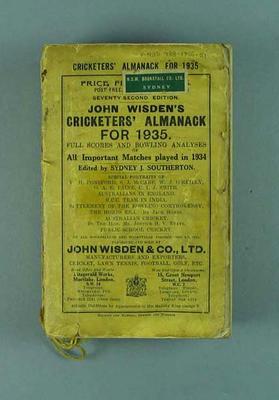 Wisden Cricketers' Almanack, 1935