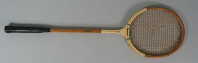 Squash racket used by Mahmoud Kerim, 1951