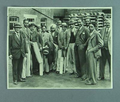 Group photograph of Indian cricket team, c1926