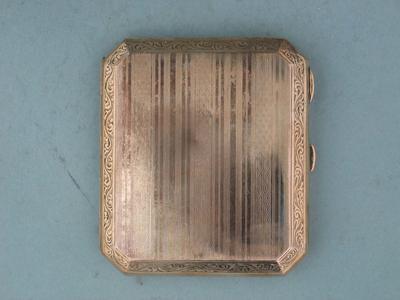 Cigarette case presented to Stan McCabe, 1930