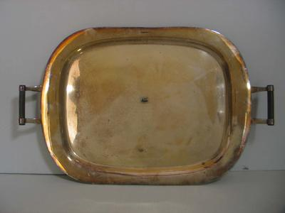 Silver tray presented to Stan McCabe, 1934