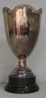 Overall winners trophy won by the yacht 'Solo', 1962 Sydney to Hobart Yacht Race