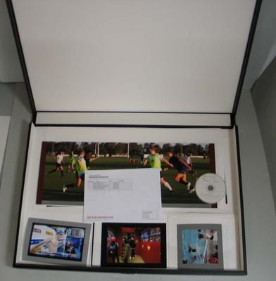 Box of photographic prints produced as part of the 2011-2012 NSM-Basil Sellers Creative Arts Fellowship