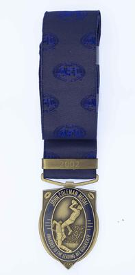Coleman medal awarded by the AFL to David Neitz, 2002