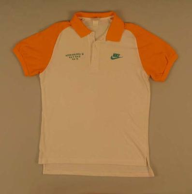 Polo shirt, worn by Will Baillieu c1980s