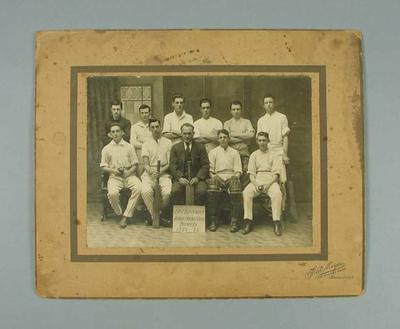 Photograph of East Brunswick Junior Cricket Club, 1922-23