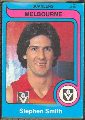 1980 Scanlens (Scanlens) Australian Football Stephen Smith Trade Card