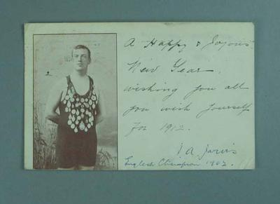 English swimmer J.A. Jarvis