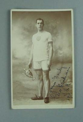 Postcard, picture of George Henderson - 1910