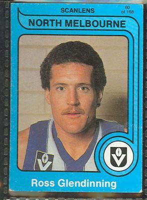 1980 Scanlens (Scanlens) Australian Football Ross Glendinning Trade Card