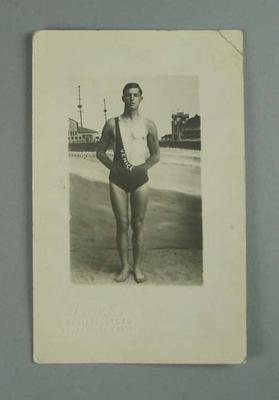 Postcard, image of Frank Holborow