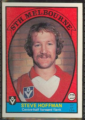 1978 Scanlens (Scanlens) Australian Football Steve Hoffman Trade Card
