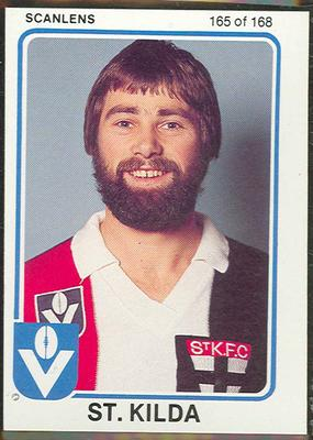 1981 Scanlens (Scanlens) Australian Football Jeff Dunne Trade Card